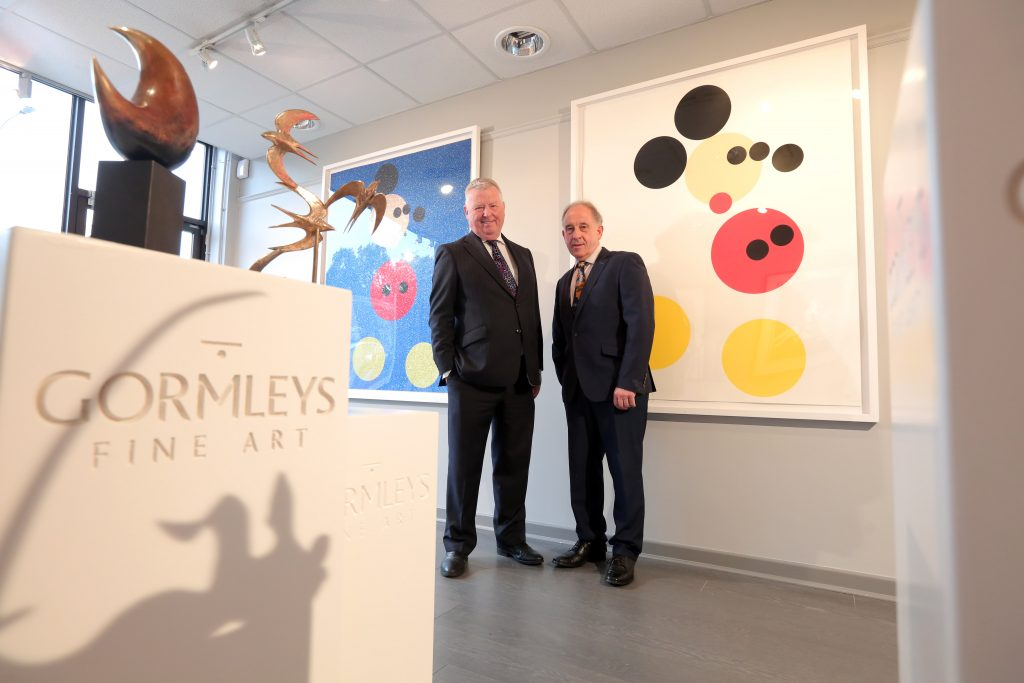 Contemporary exhibition featuring Andy Warhol, Banksy, Damien Hirst and more presented in association with Willis Insurance and Risk Management