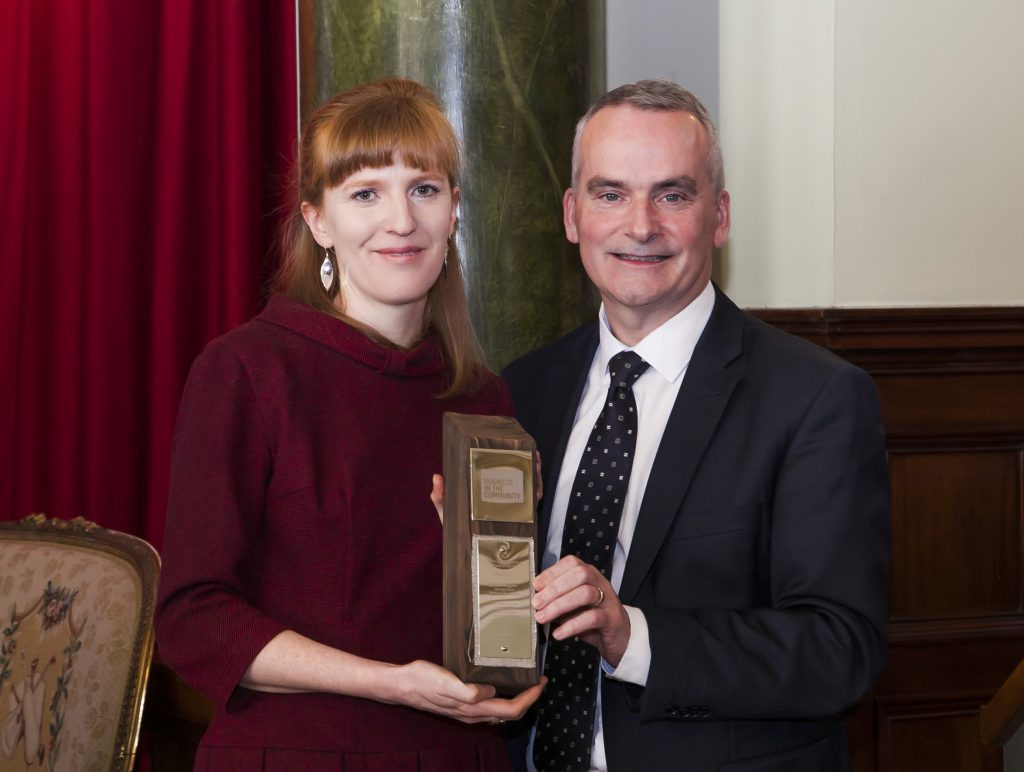 Laura Duggan, Environmental Manager at George Best Belfast City Airport, is celebrating after being recognised by Business in the Community Northern Ireland (BITCNI) for her significant contribution to environmental sustainability.