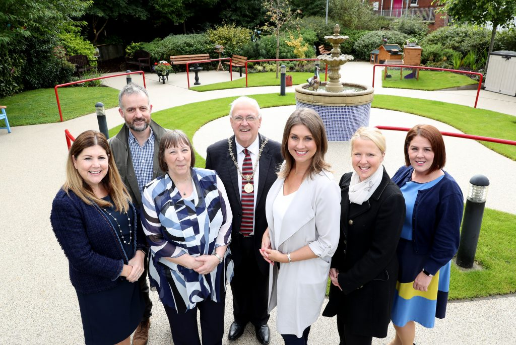 "Palmerston Residential Care Home in East Belfast has officially opened its ""Magical Memory Garden"" to support those living with dementia."