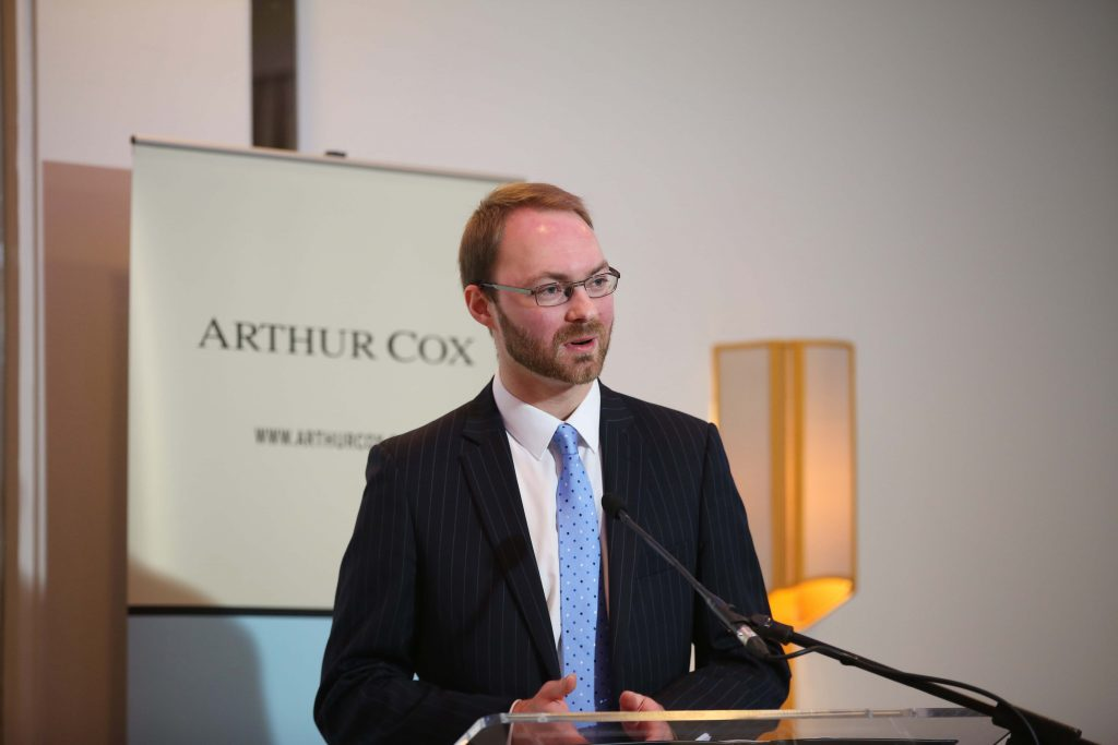 William Curry, Corporate and Commercial Partner at Arthur Cox