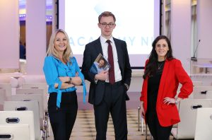 ": The new IoD Academy NI, aimed at setting new standards of excellence among Northern Ireland's business leaders, has been officially launched. IoD Corporate Governance Analyst James Jarvis pictured with, from left, Emma Jayne Mawhinney, IoD Academy NI Business Development Manager and Elaine O'Neill, IoD NI Programme Director, told the launch that increasing complexity of the role of modern directors and heightened public interest illustrated that ""there's never been a better time to invest in professional development"". The Academy will provide a broad range of courses to enhance the skills of local directors such as the role of a director and the board, finance for non-financial managers, strategy, and leadership for directors as well as offering the flagship Chartered Director qualification. For more information, visit www.iod.com/academyni or call 028 9091 2829 or email Emma Jayne Mawhinney EmmaJayne.Mawhinney@iod.com"