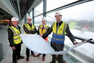 H&J Martin Fit Out begins work on £15 million infrastructure upgrade at Belfast City Airport