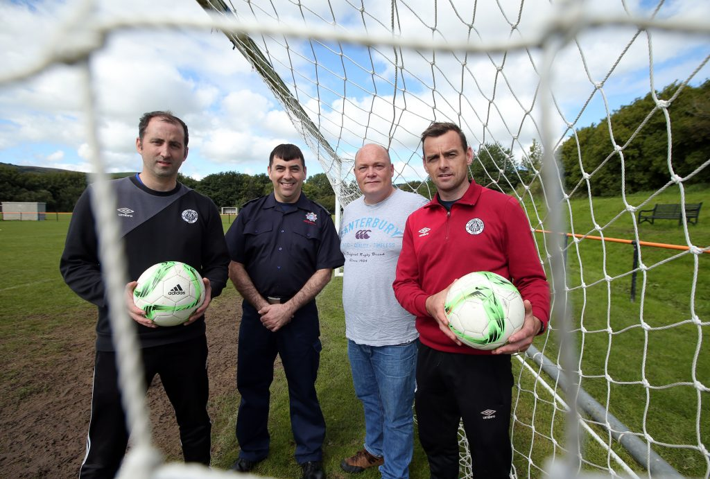 Lighthouse Communications client Belfast City Airport supports St Oliver Plunkett Football Club