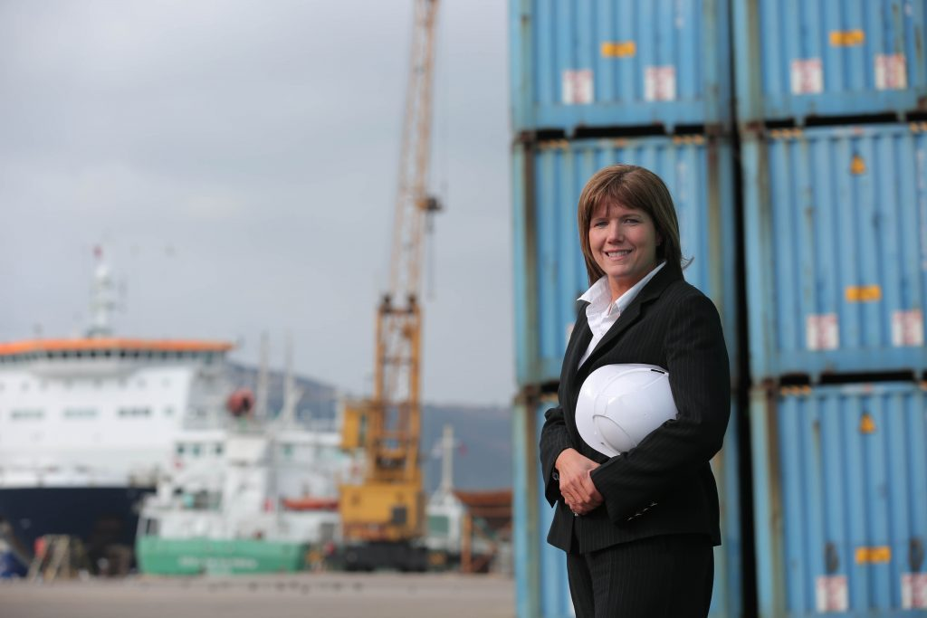 Lighthouse Communications client Warrenpoint Port Chief Executive Clare Guinness