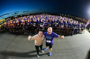 The Grant Thornton Runway Run, which took place last night (Thursday 21 June), was a runaway success for the 600 participants who completed the 5k team race on the runway of George Best Belfast City Airport shortly after 11pm.