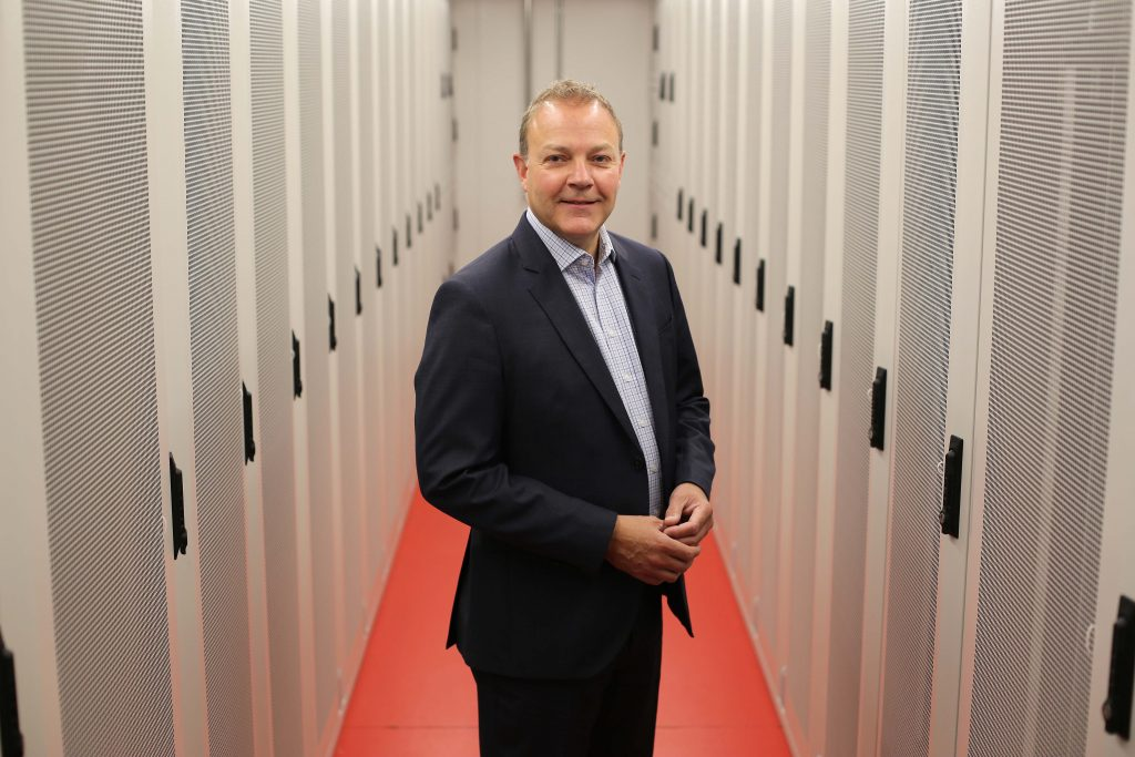 Global data centre firm 5NINES has opened Northern Ireland's largest data centre in Coleraine following a £20 million investment. The 45,000 sq ft facility, led by Paul Besley, General Manager, 5NINES NI, pictured, is the first of its kind in Northern Ireland and is based at the 40-acre Atlantic Link Enterprise Campus in the region's first Enterprise Zone.