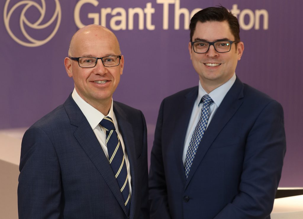 Richard Gillan, Managing Partner and Andrew Webb, Chief Economist, Grant Thornton NI