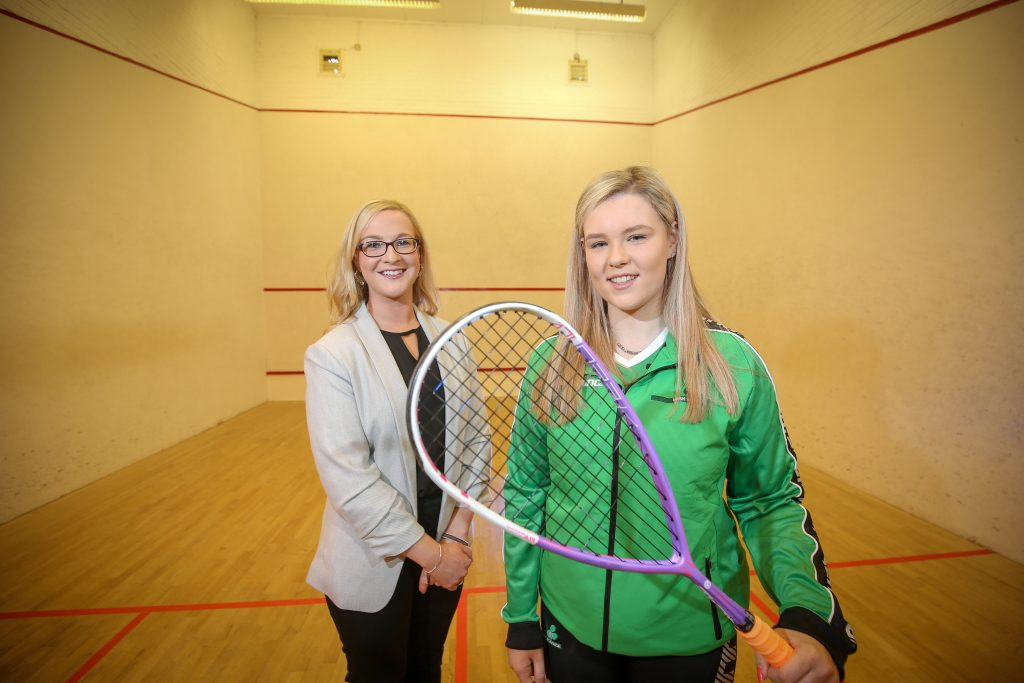 Alyson English, Director, Lighthouse Communications joins east Belfast teenager Emma McGugan as the Strathearn School student prepares for a 'once in a lifetime opportunity' representing Ireland in the World Junior Squash Championships in Malaysia.