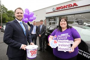 Donnelly Honda, Ballymena partner with NI Hospice