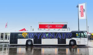 Mallaghan Engineering wins Ryanair airport bus contract