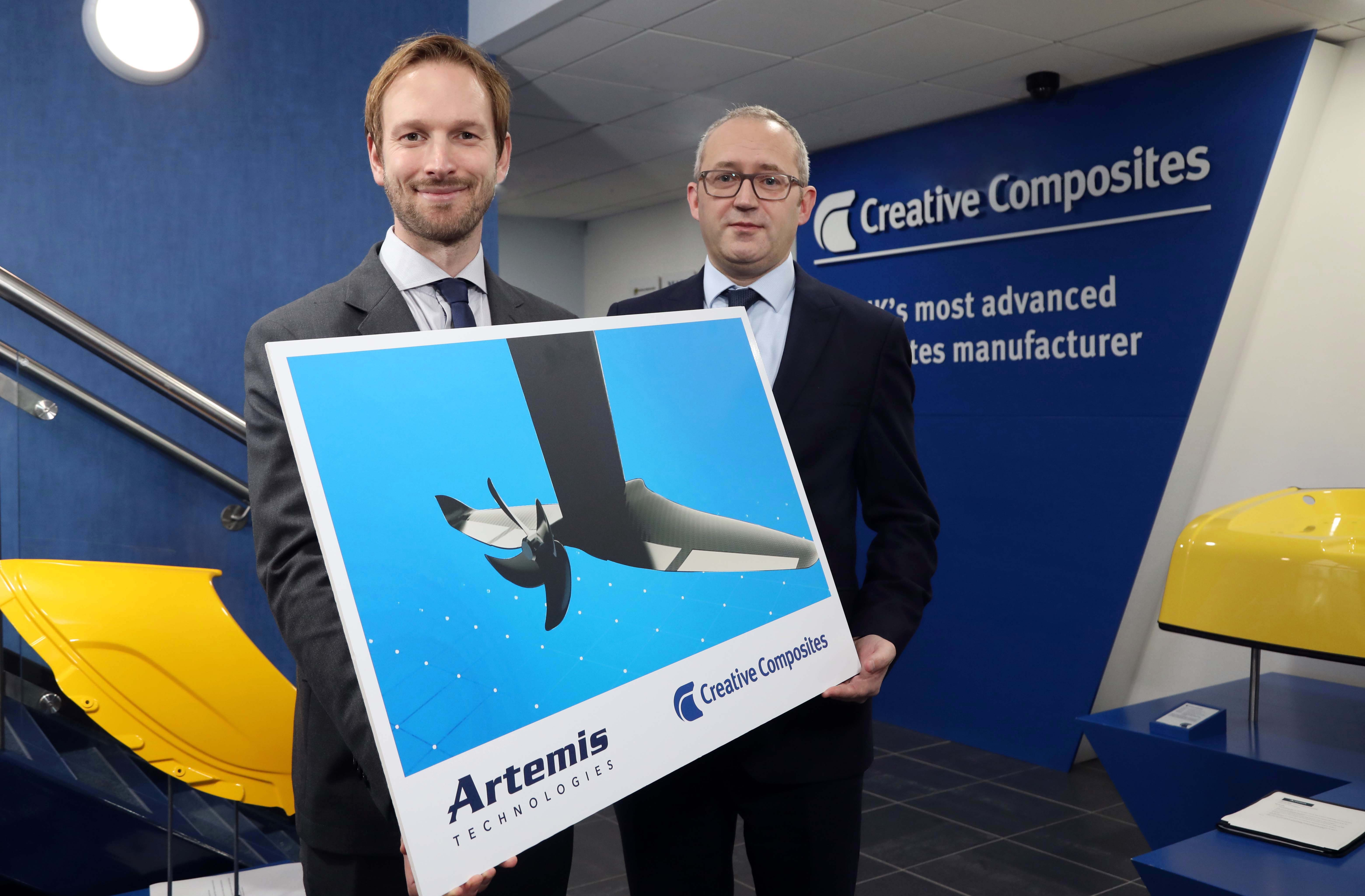 Artemis Technologies partners with Creative Composites