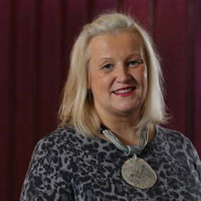 Heather Weir, Chief Executive, Northern Ireland Hospice