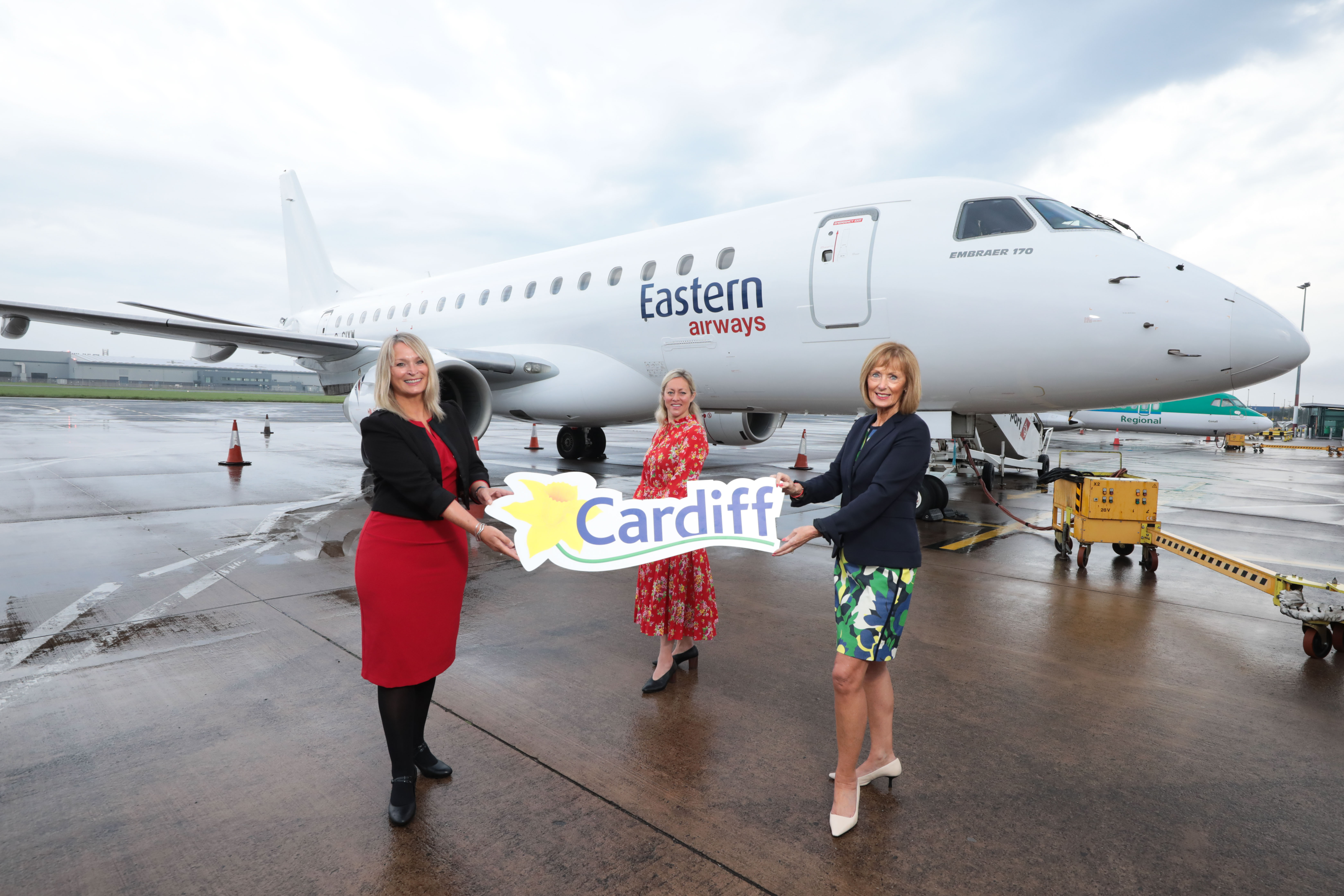 Belfast City to Cardiff with Eastern Airways