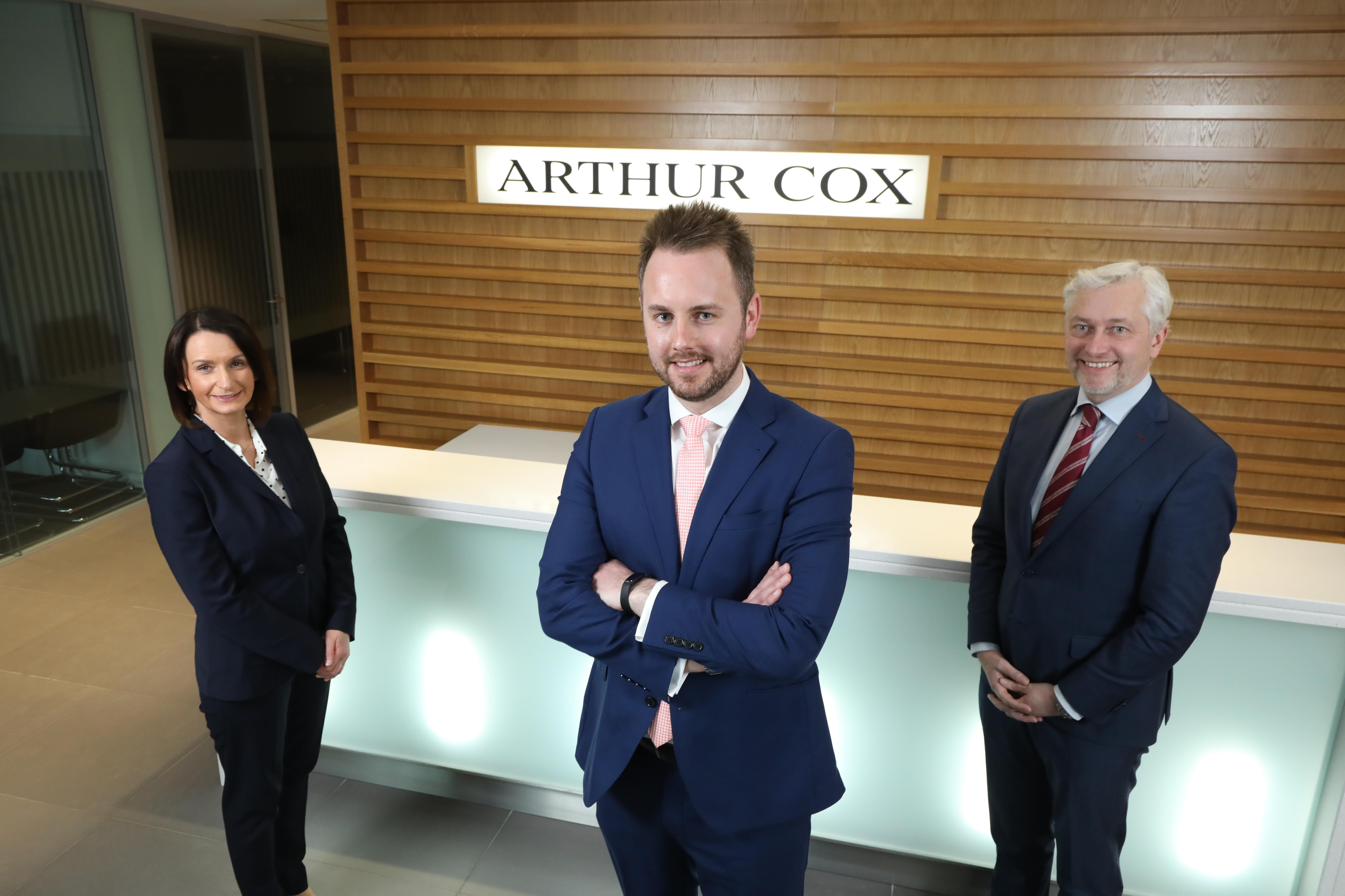 David White (middle) appointed as partner