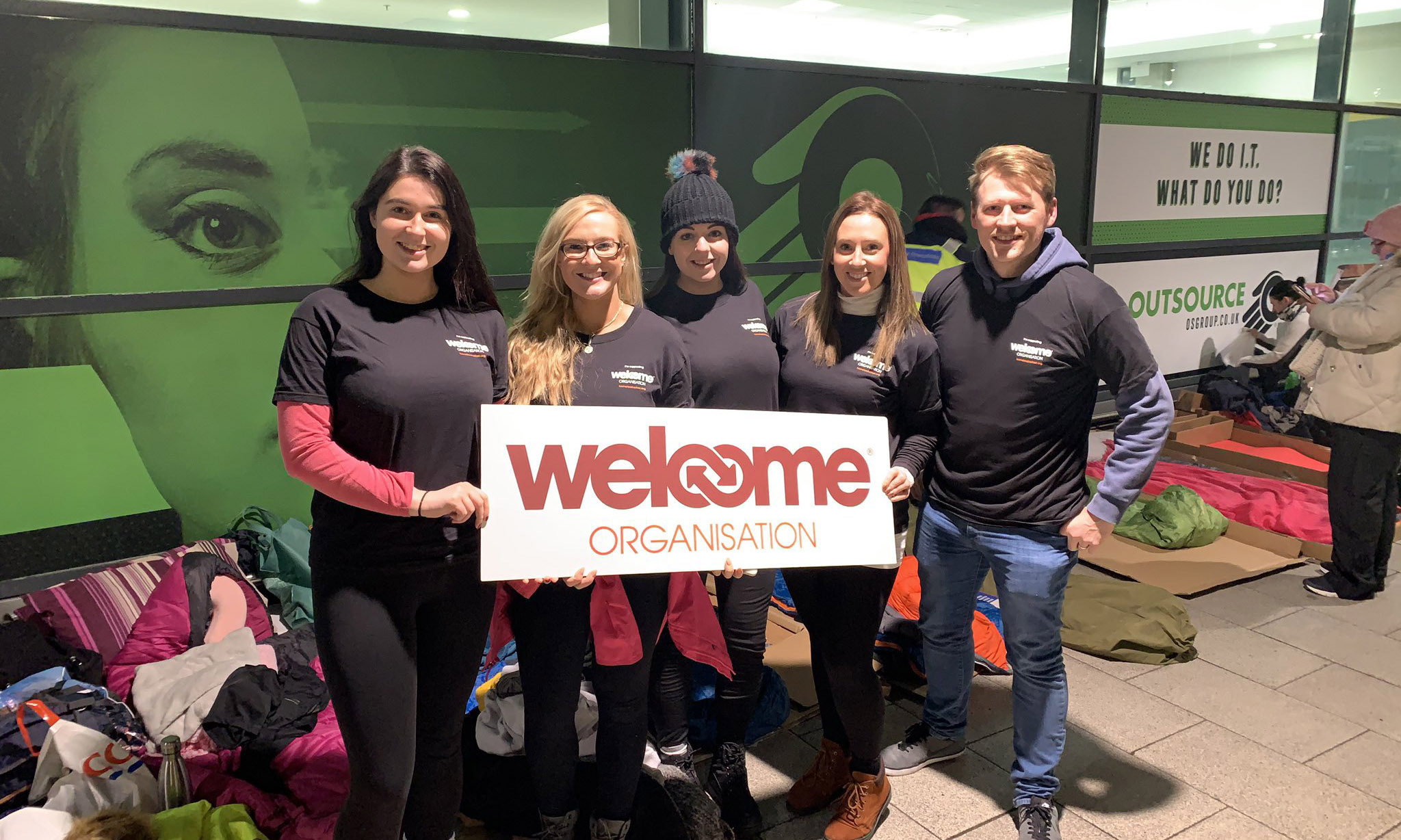 Welcomeorg sleepout