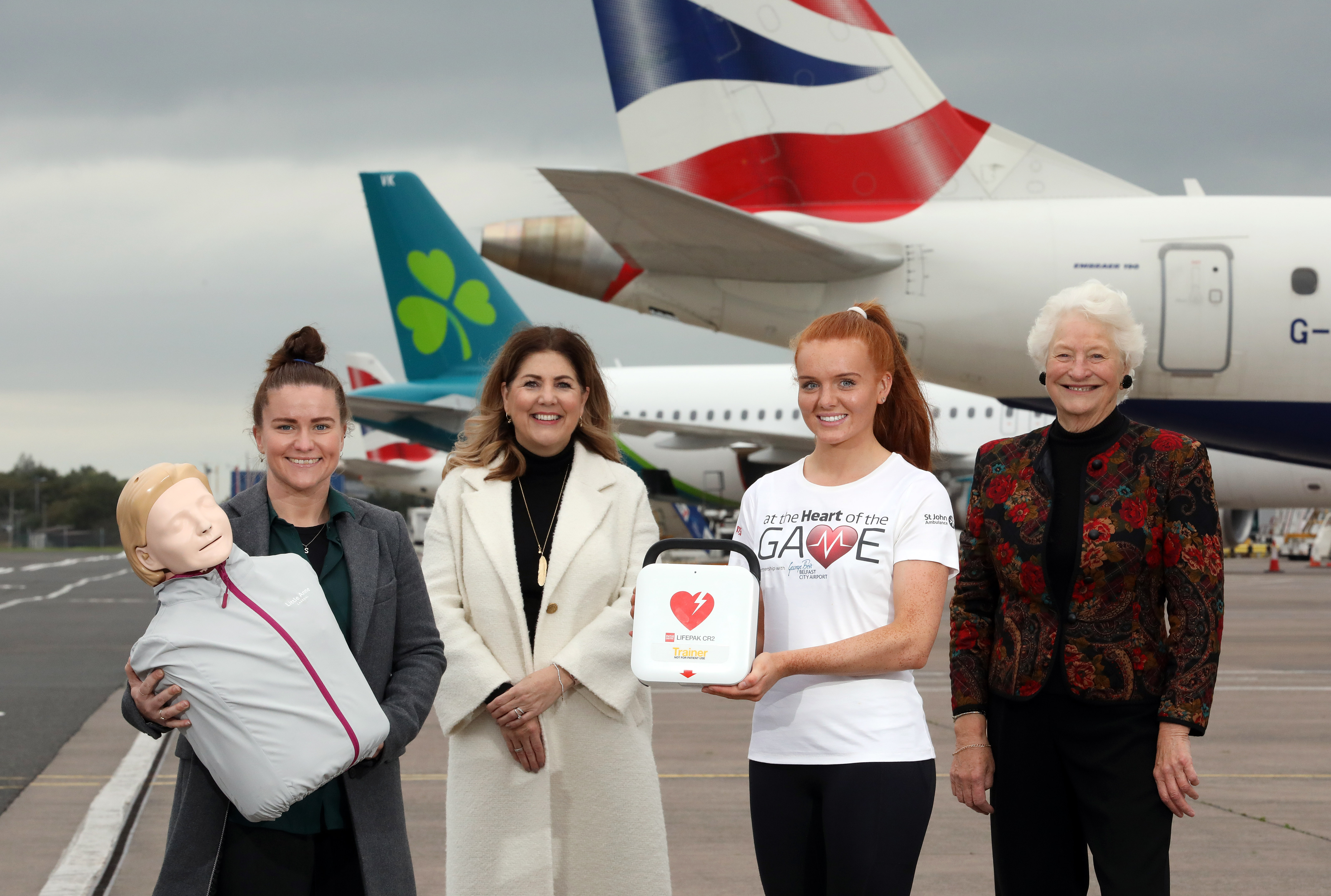 At the Heart of the Game - Lady Mary Peters, Dr Shirley McCay, Anna Pim, Michelle Hatfield