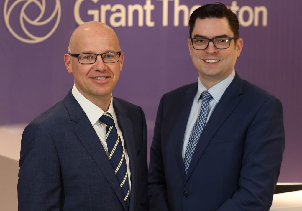 Richard Gillan, Managing Partner and Andrew Webb, Chief Economist, Grant Thornton NI