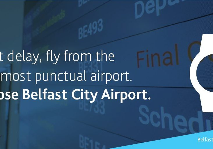 GEORGE BEST BELFAST CITY AIRPORT NAMED THE UK'S BEST FOR PUNCTUALITY