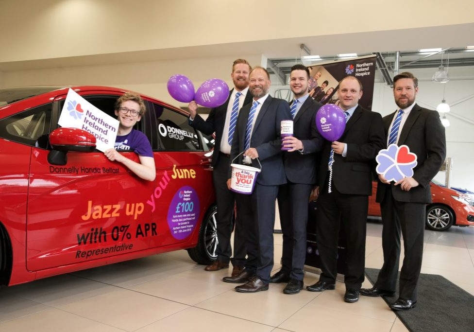 Donnelly Honda, Belfast partner with NI Hospice