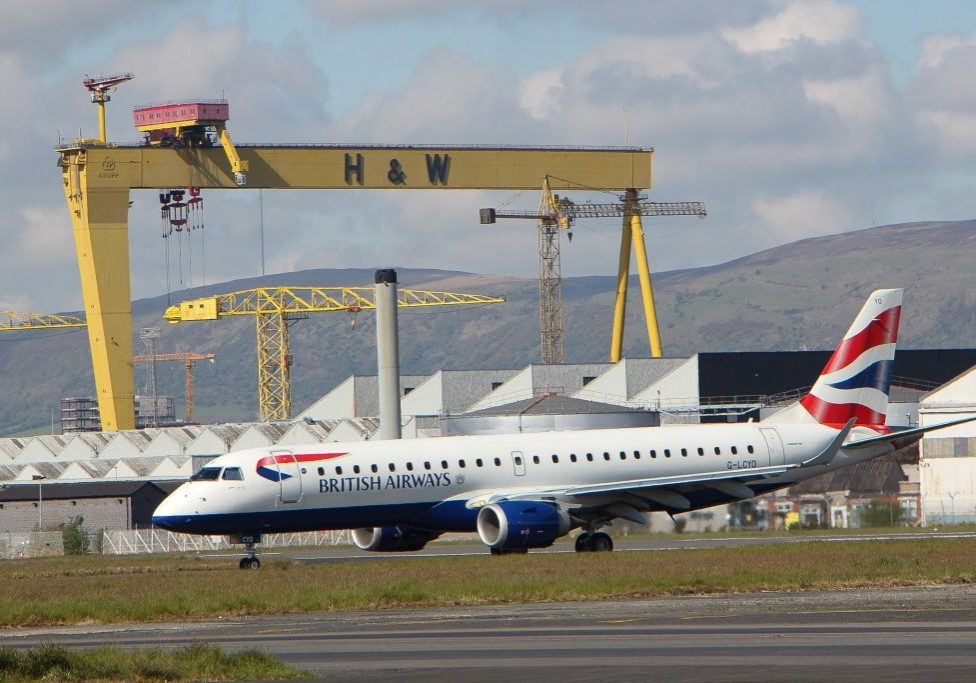 British Airways from Belfast City Airport