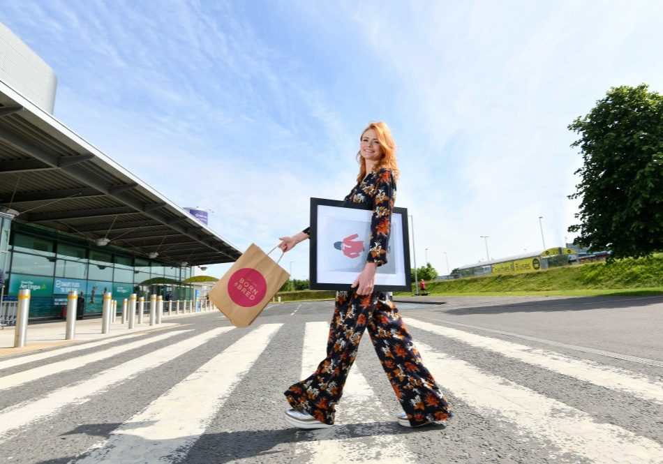 Born and Bred, the brainchild of Belfast entrepreneur Linzi Rooney, is to open a retail store in the departures lounge as part of the ongoing £15 million refurbishment in the airport. The Born and Bred store will offer passengers Belfast themed gifts and souvenirs, quirky homeware and modern textiles designed by Northern Ireland artists.
