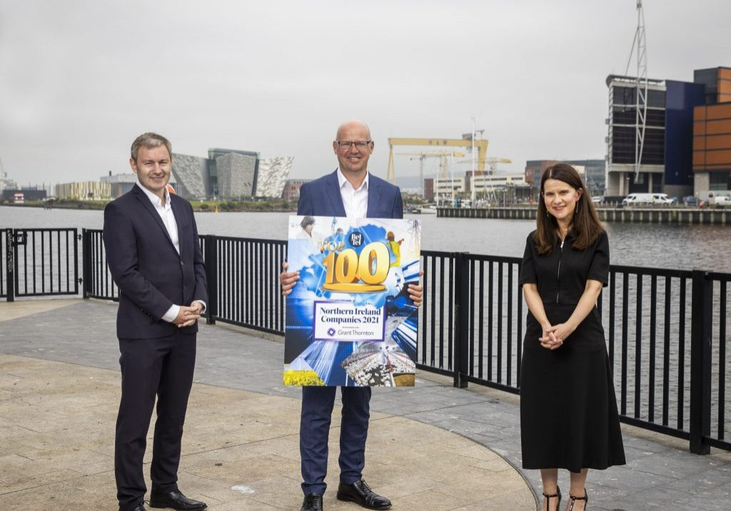 Grant Thornton Belfast Telegraph Top 100