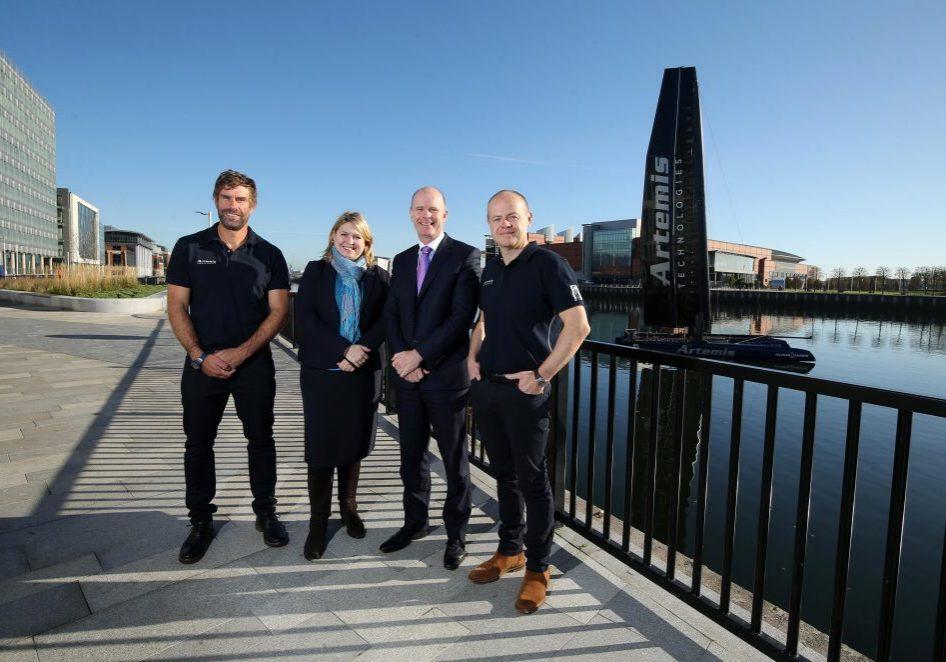 Iain Percy, Karen Bradley, Joe O'Neill and Mark Gillan.