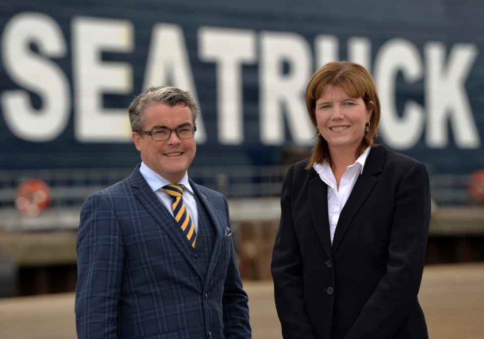 A €100 million investment by Seatruck Ferries, the Irish Sea freight specialist, will increase capacity on Warrenpoint to Heysham route by 30%.