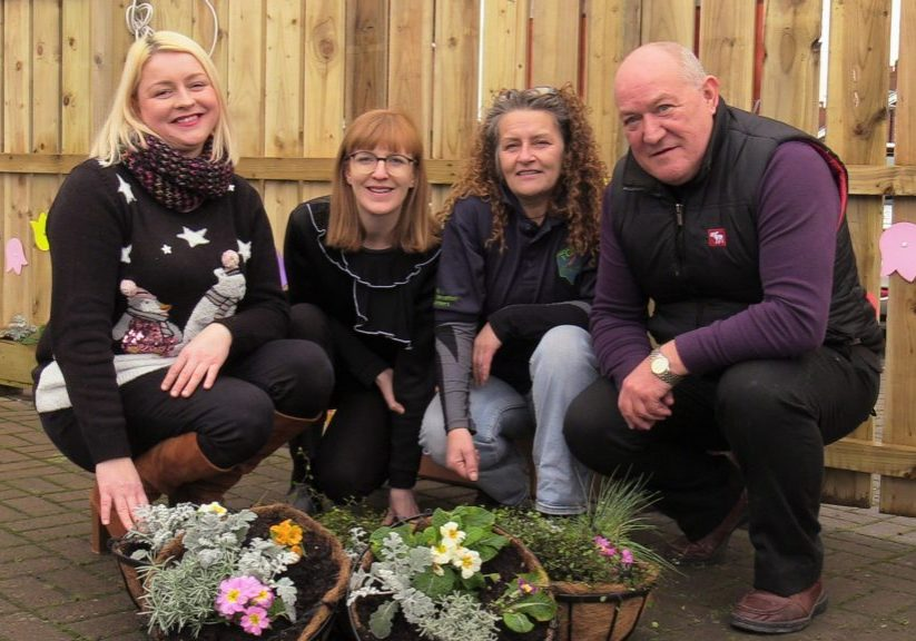 The George Best Belfast City Airport Community Fund has provided financial support to Lagan Village Youth and Community Group in South Belfast for a conservation project.